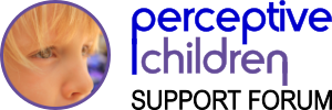 Perceptive Children Support Forum logo